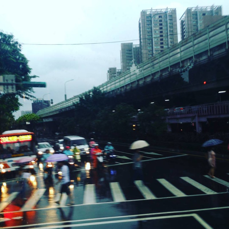 Back in Taipei