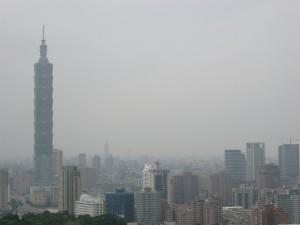 Taipei 101 Skyline