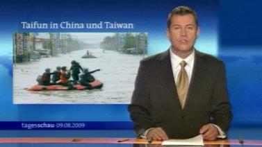 Tagesschau Taifun Taiwan China