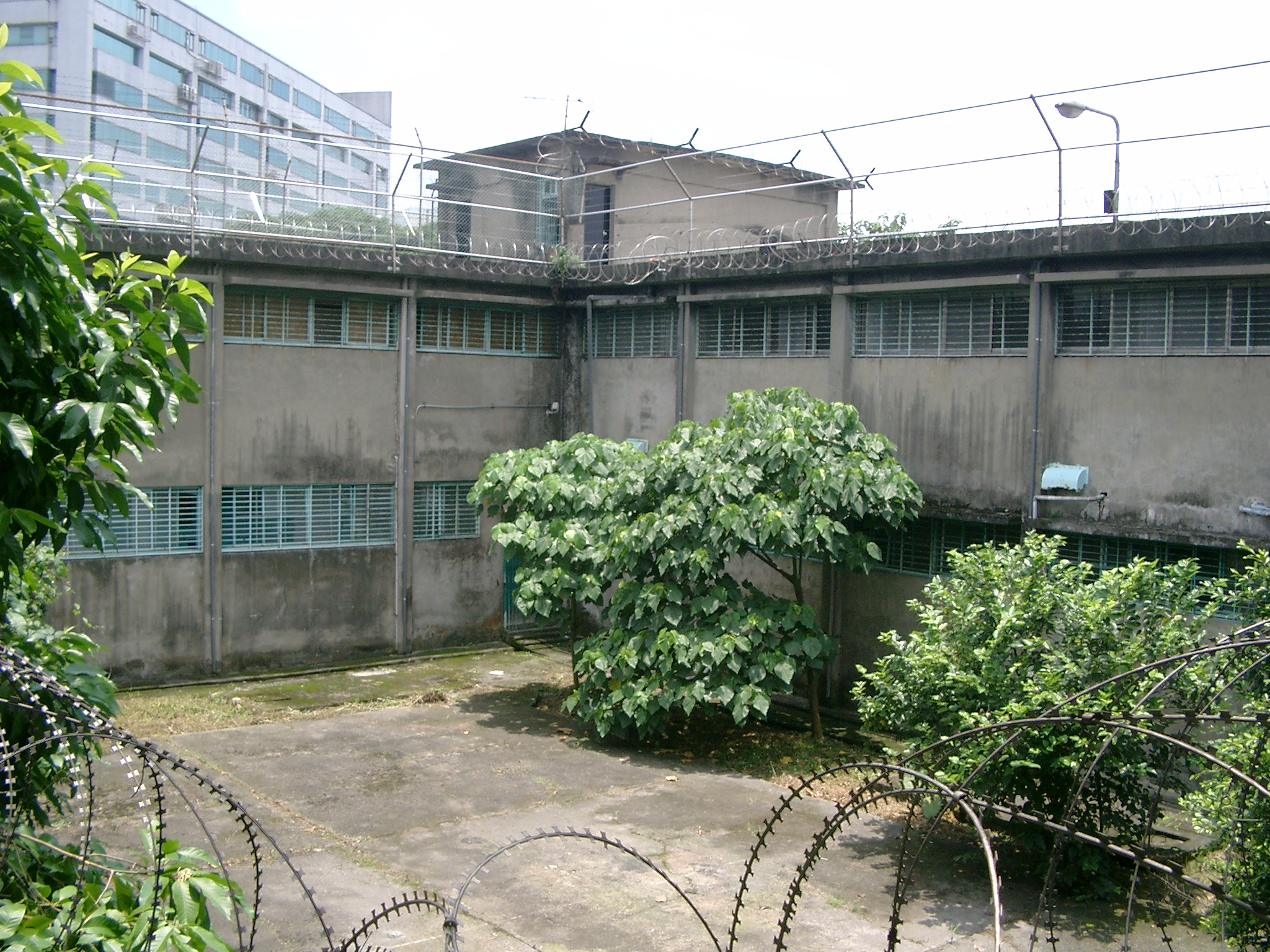 Jingmei Human Rights Memorial Courtyard