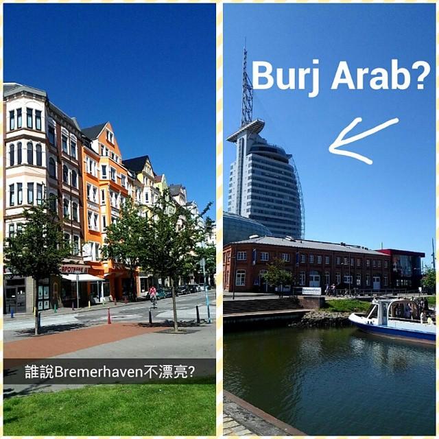 SnapchattaiwanreporterBremerhaven On my Snapchat taiwanreporter today Bremerhaven the big cityhellip