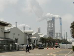 Chemiekomplex von Formosa Plastics in Taiwan