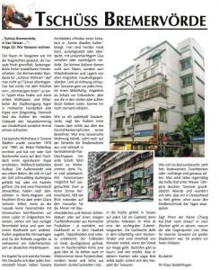 Zeitungsartikel: Wohnen in Taiwan