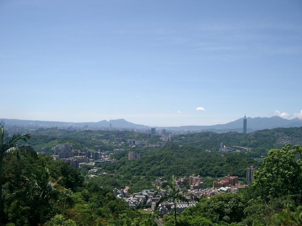 Taipeh Berge Panorama