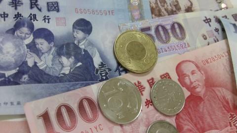 Geldscheine NTD Taiwan Dollar