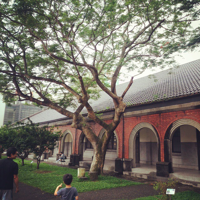 Nice old (probably Japanese) building on the campus of National…