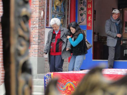 Alte Menschen in Taiwan