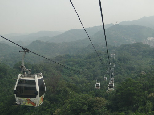 Maokong Seilbahn Taipei