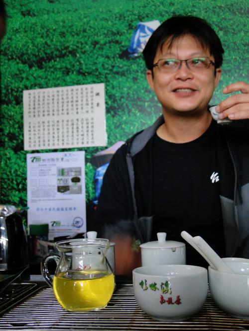 Taiwan Oolong Tee trinken
