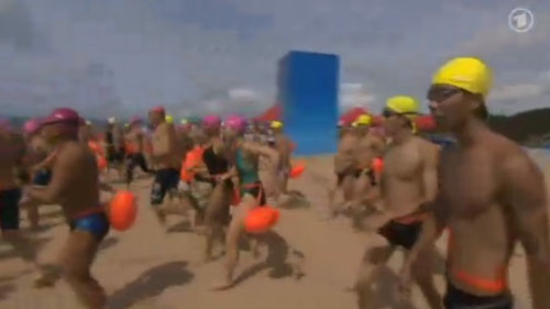 ARD Weltspiegel Kinmen Schwimmen