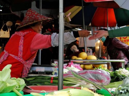 Taiwan Marktstand