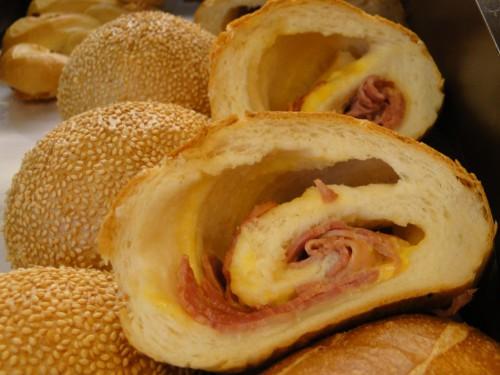 Brot mit Käse in Taiwan