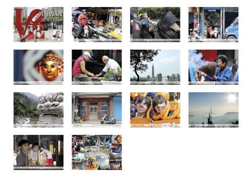 Kalender TAIWAN 2014 Übersicht