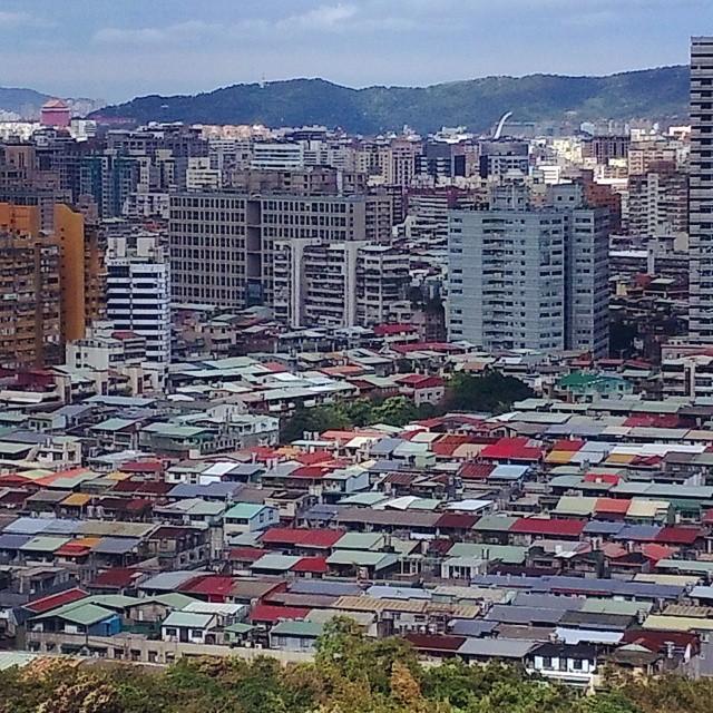 Taipei. Home of the corrugated metal roof.