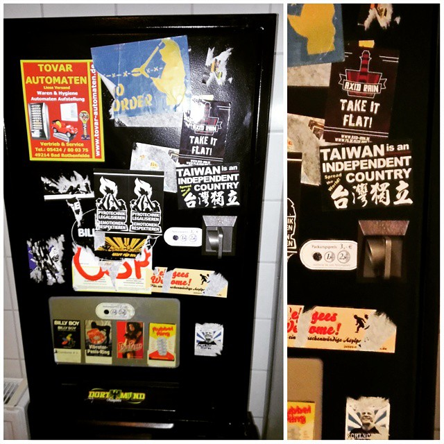I totally did not expect to find a #Taiwan sticker…
