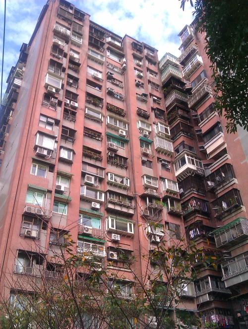 Hochhaus in Taiwan