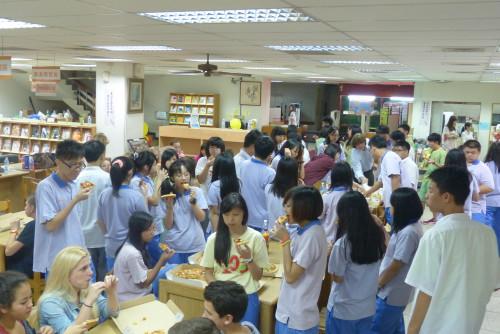 Deutsche Austauschschüler in Taiwan