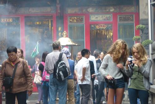 Longshan Tempel Taipeh
