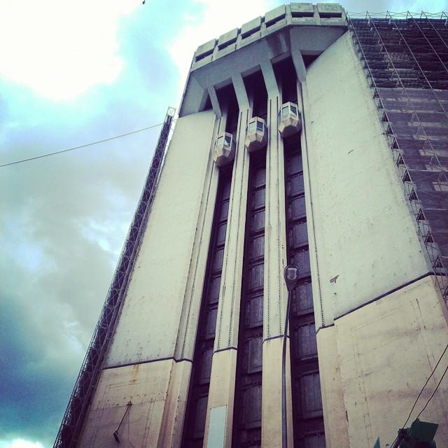 Brutalist architecture.