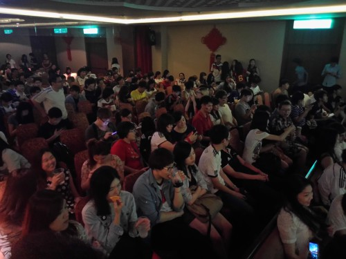 Taiwan Germany Football Fans