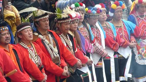 Ureinwohner Zeremonie Tanz Taiwan
