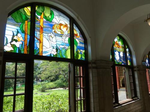 Taipeh Beitou Hot Spring Museum Fenster