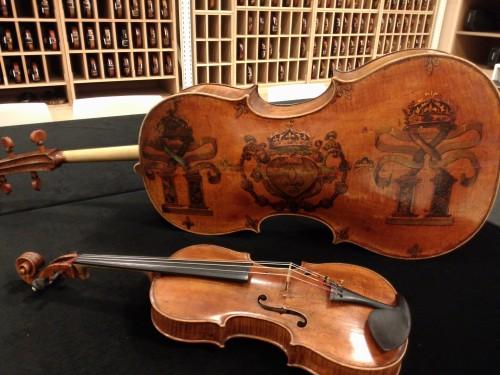 Amati Violine und Bratsche
