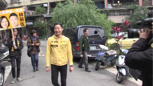 Freddy Lim Straßenwahlkampf