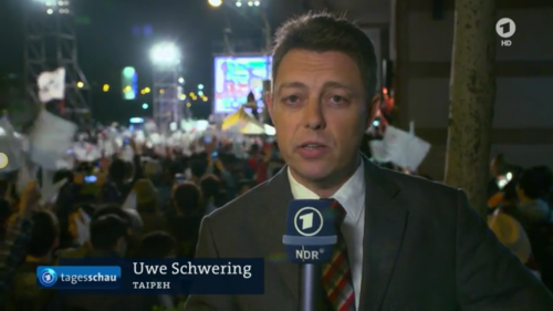 ARD Tagesschau Uwe Schwering Taiwan