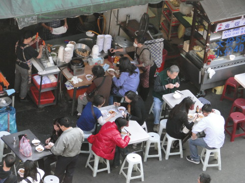 Restaurant Taiwan draußen