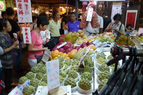 Obststand Nachtmarkt
