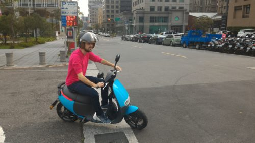 Gogoro Scooter in Taipei