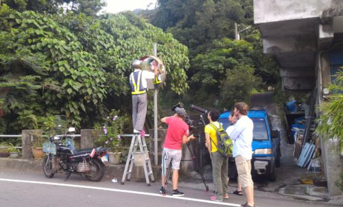 Spiegelputzer in Taiwan