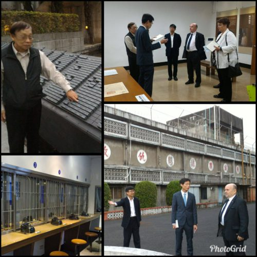 Rainer Eppelmann Besuch in Taipei