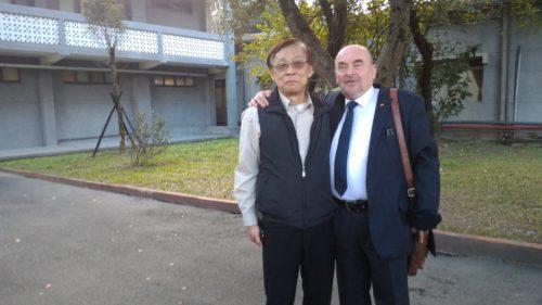 Rainer Eppelmann Jingmei Gefängnis Taiwan