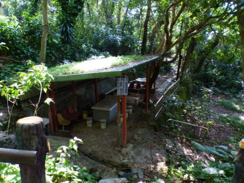 Taiwanese rest hut