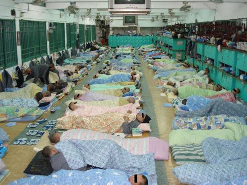 Schlafen Gefängnis Taiwan