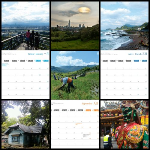 Kalender 2019 Collage