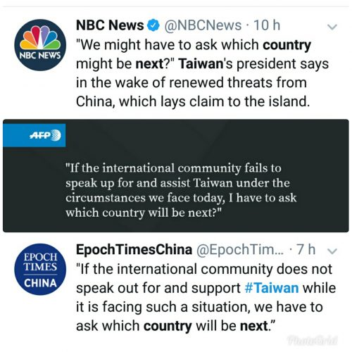 Taiwan Which Country Will Be Next